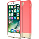 iPhone 7 Plus Case, Maxboost [Vibrance Series] Protective Slider Style Slim Cases Covers For Apple iPhone 7 Plus 2016 SOFT-Interior Scratch Protection Finish - Italian Rose/Gold