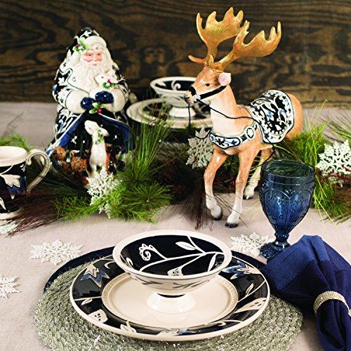 Fitz and Floyd Bristol Holiday Deer Figurine,