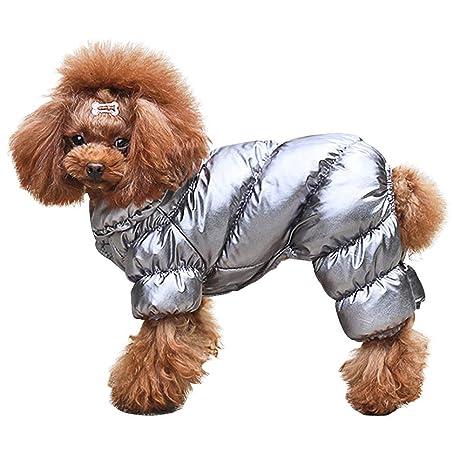 KNXIDR Invierno del Perrito de Abrigos para Perros para ...