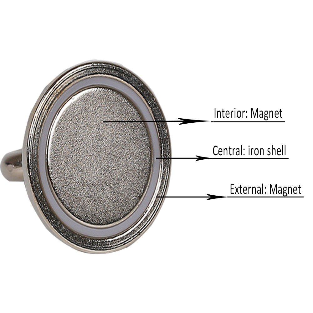 16mm ganchos magneticos 5.5kg Fuerza de Tracci/ón Im/án Redondo Bkinsety 12 Piezas Imanes de Neodimio