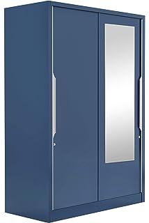16d3ee558e1 Godrej Interio Slide N Store Pro Plus 2-Door Wardrobe with Mirror (Matte  Finish
