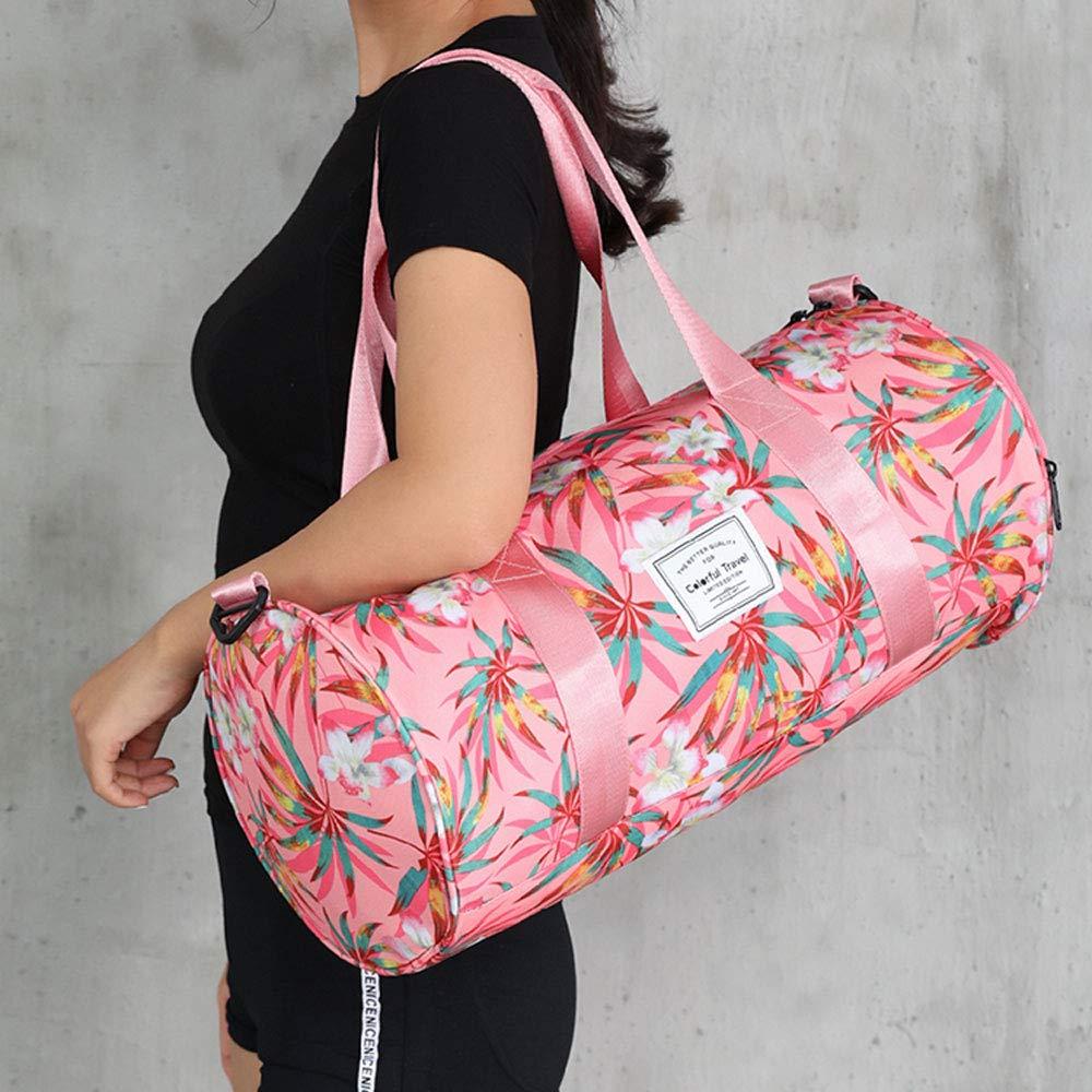 XF Gym Totes Sports Bag Fitness Sports Bag Handbags Tide Belt Shoes Dry and Wet Separation Swimming Bag Single Shoulder Training Bag Small Travel Bag 49x25x25cm Gym Bags 45x22x22cm