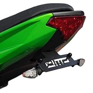 DMP 2012 2013 2014 2015 2016 Kawasaki Ninja 650R 650 Fender Eliminator Kit Includes Turn Signals and Plate Lights - 685-4560 - MADE IN THE USA