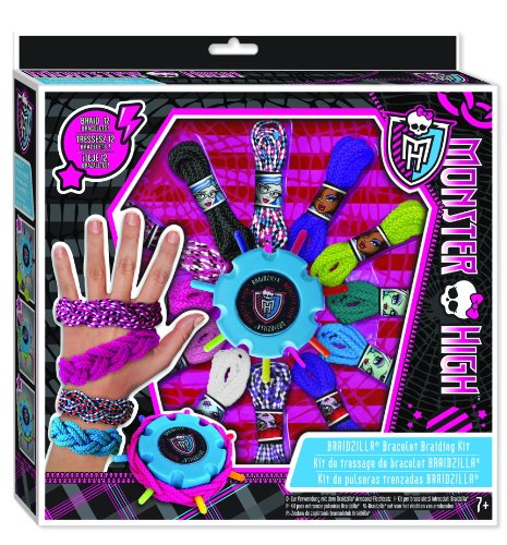 Fashion Angels Monster High Braidzilla Bracelet Braiding Kit