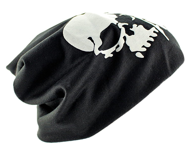 BONAMART® TM Fashion Unisex Männer Frauen Schädel Cotton Beanie Baggy Skimütze Herbst Winter Hut Cap