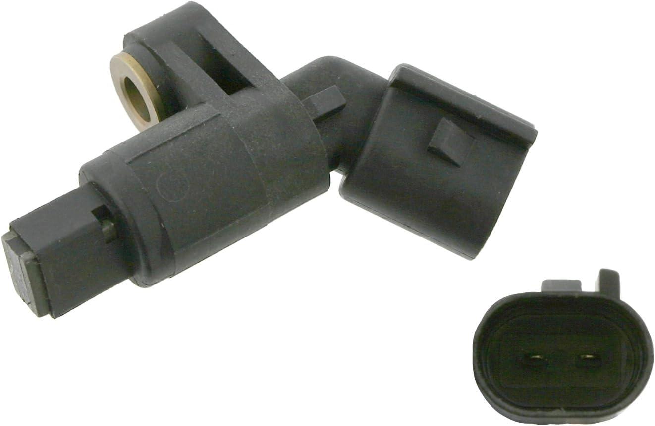 Vorderachse beidseitig Anschlusszahl 2 Raddrehzahlf/ühler febi bilstein 24510 ABS-Sensor 1 St/ück