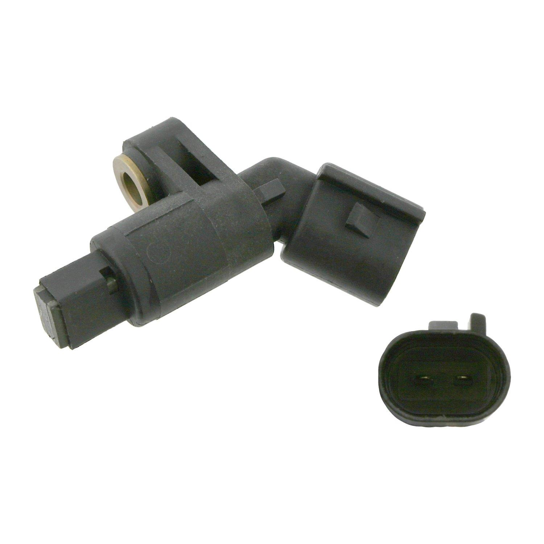 1 St/ück Anschlusszahl 2 Raddrehzahlf/ühler Vorderachse rechts febi bilstein 21584 ABS-Sensor