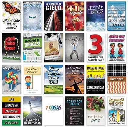 Amazon com : Gospel Tracts Sample Pack (Spanish