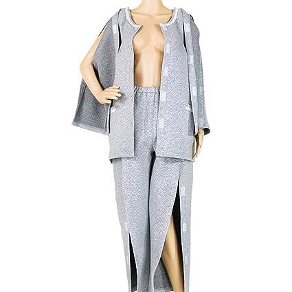 Ropa Para El Cuidado Del Paciente/Conjunto De Pijamas Para Mujer, Fácil De Usar
