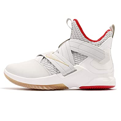 outlet store 063c9 20a78 Image Unavailable. Image not available for. Color  NIKE Men s Lebron  Soldier XII EP, Light Bone Light ...
