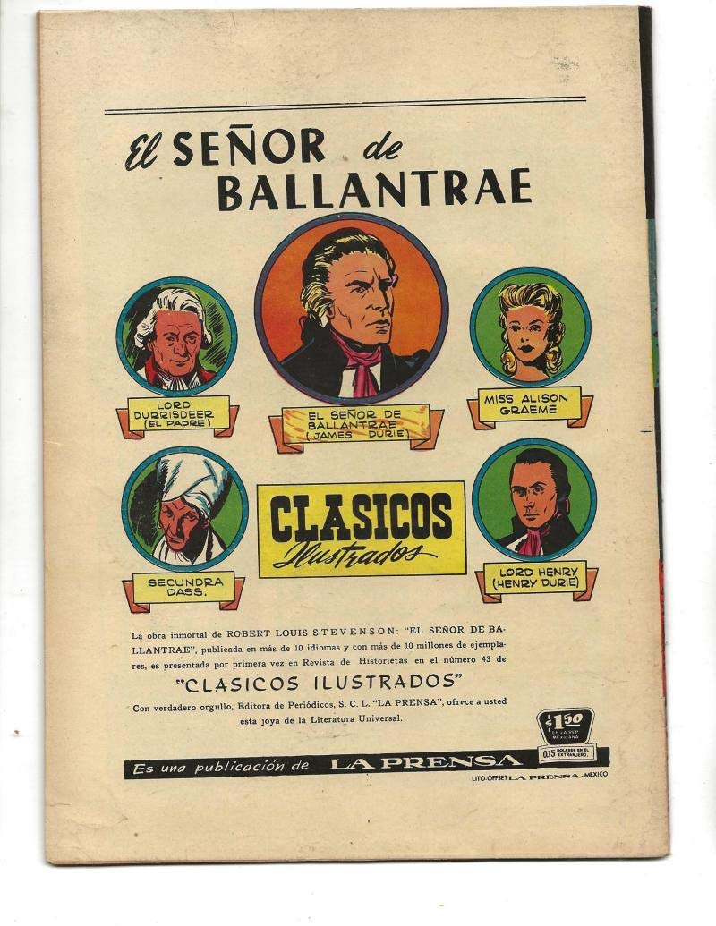 Amazon.com: Misterios Del Gato Negro #31 1955 Spanish Black Cat Skeleton Cover: Entertainment Collectibles