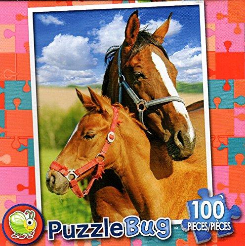 Mare and B079S1QZLB Foal – Puzzlebug – – 100ピースジグソーパズル Foal B079S1QZLB, インターホンと音響機器のソシヤル:ccaf813d --- ero-shop-kupidon.ru