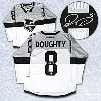 922565e71 Image Unavailable. Image not available for. Color  Drew Doughty Los Angeles  Kings Autographed 2015 Stadium Series Reebok Jersey