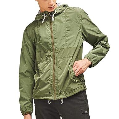 adbd9de9e Toomett Unisex Rain Jacket Packable Outdoor Waterproof Hooded Pullover  Raincoat Poncho at Amazon Men's Clothing store: