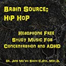 Brain Source: Hip Hop Headphone Free, Study Music for Concentration and ADHD