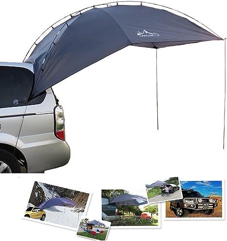 Para tienda de campaña toldo Roof Top 2 en 1 trasero de coche Camping viaje tienda