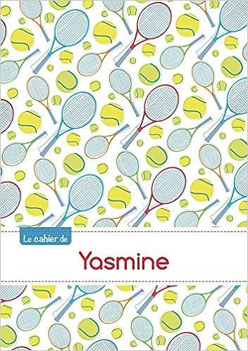 Livre CAHIER YASMINE SEYES,96P,A5 TENNIS pdf