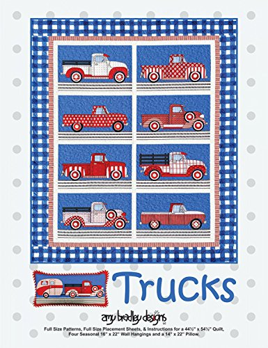 Amy Bradley Designs ABD280 Trucks Quilt Pattern