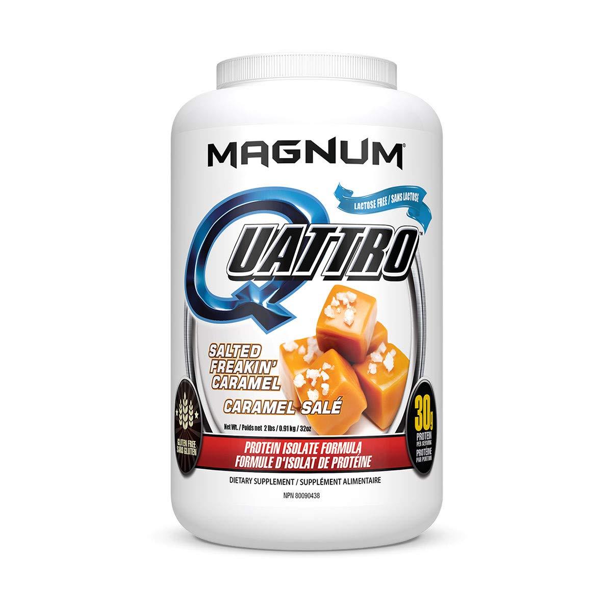 Amazon.com: Magnum Nutraceuticals Quattro Protein Powder ...