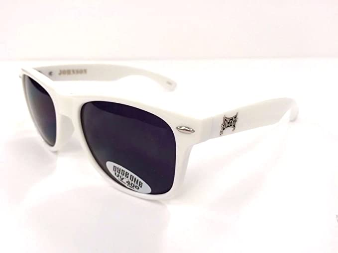 Authentic Dyse One Shades Johnson Wayfarer White Sunglasses ...