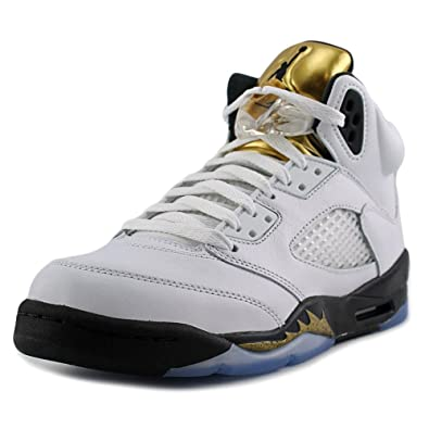 huge selection of 341ef 99bf7 ... switzerland nike herren air jordan 5 retro bg basketballschuhe blanco  blanco white black 26588 ac6cc