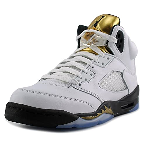 74f717833b3ef5 ... AIR JORDAN 5 RETRO BG (GS) OLYMPIC GOLD - 440888-133 ...