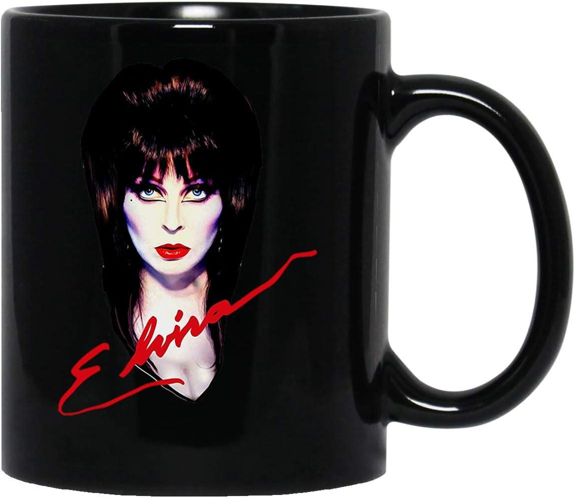 Elvira The Mistress Dark Dreams Vampire Dracula Hallooween Mug Cup Coffee Mugs Cups Tea ()