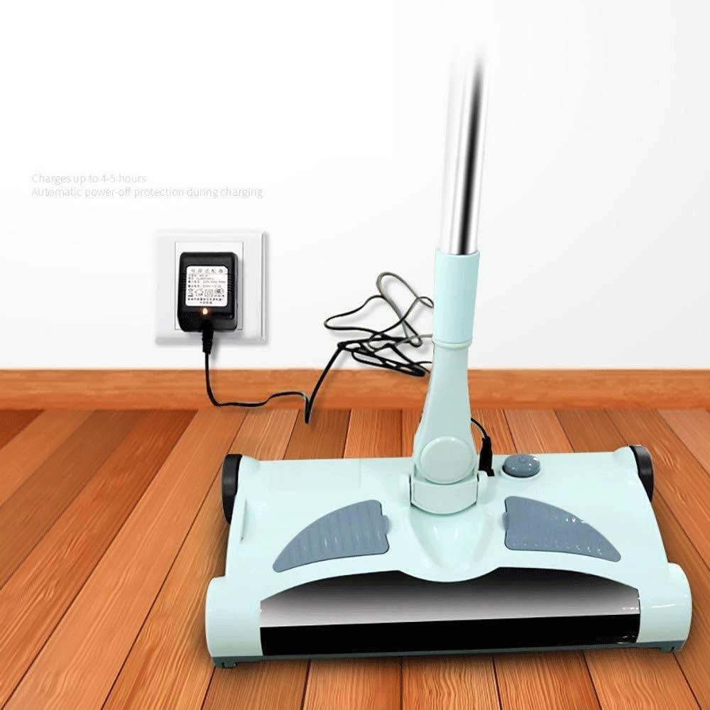 LYYJIAJU Vadrouille /à Main /à Vapeur Steam Mop 3 en 1 Multifonction sans Fil portatif Sweeper Mop et Un aspirateur for planchers durs d/étanch/éit/é