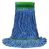 O'Cedar Commercial 97121 Premium Loop-End Mop, Small, Blue (Pack of 12)