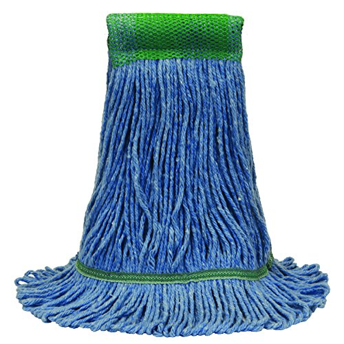 O'Cedar Commercial 97121 Premium Loop-End Mop, Small, Blue (Pack of 12) by O-Cedar Commercial