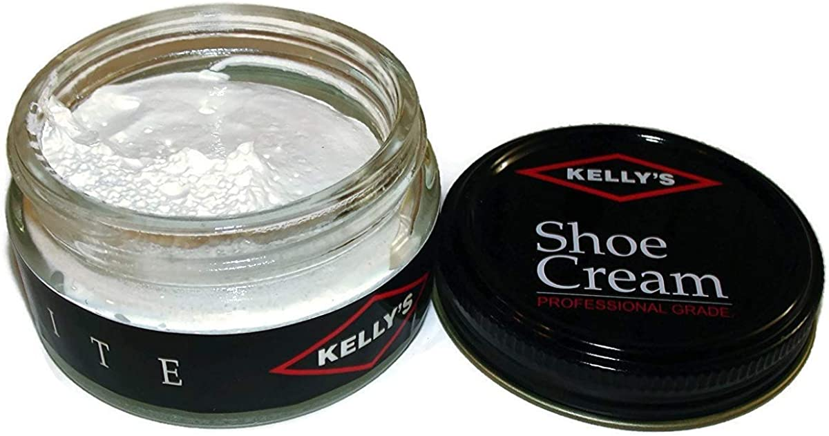 Kelly's Shoe Cream - Professional Shoe Polish - 1.5 oz - Multiple Colors Available
