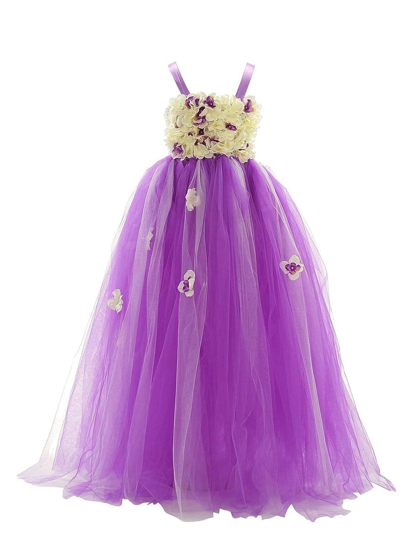 Amazon.com: Topwedding Fashion Little Girls\' Dress Tulle Layers ...