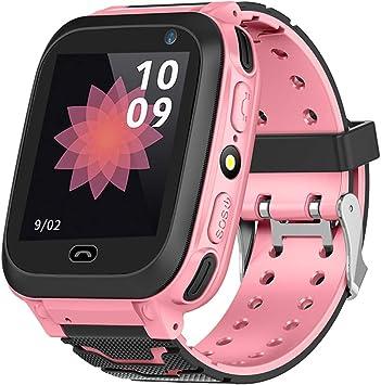 Vbestlife Reloj Inteligente GPS para Niños Tracker Smartwatch con ...