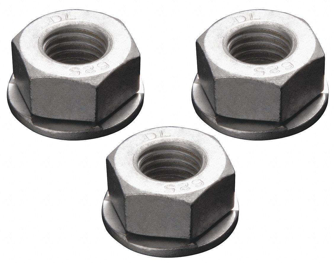 M8-1.25 x 60 mm Hex Flange Bolts//Non-Serrated//Grade 10.9 DIN6921 Quantity: 400 pcs Black Phosphate