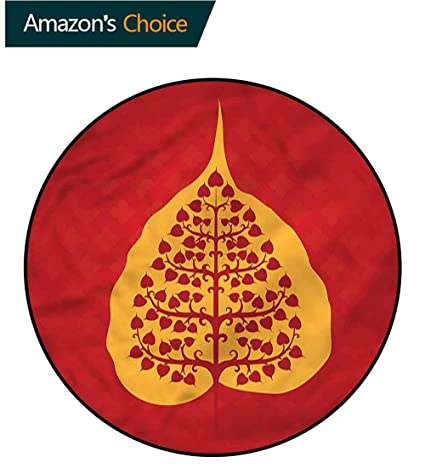 Amazon.com: RUGSMAT Leaf Dining Room Home Bedroom Carpet ...