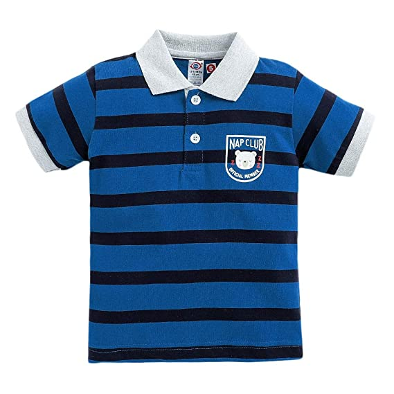 Zero Baby Boys' Polos (ZER-2565187_Blue_3-6 Months): Amazon.in: Clothing &  Accessories