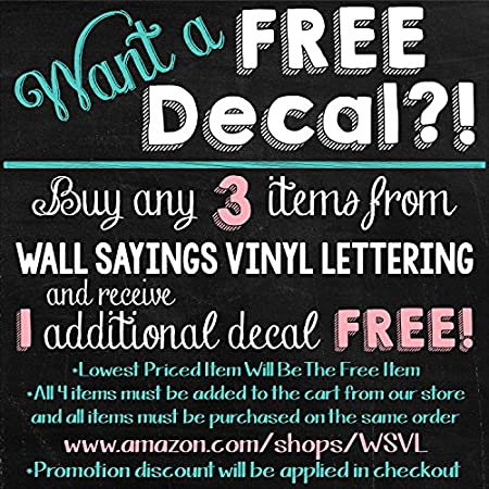 amazoncom be your own kind of beautiful vinyl lettering wall decal sticker 125h x 36l black home kitchen