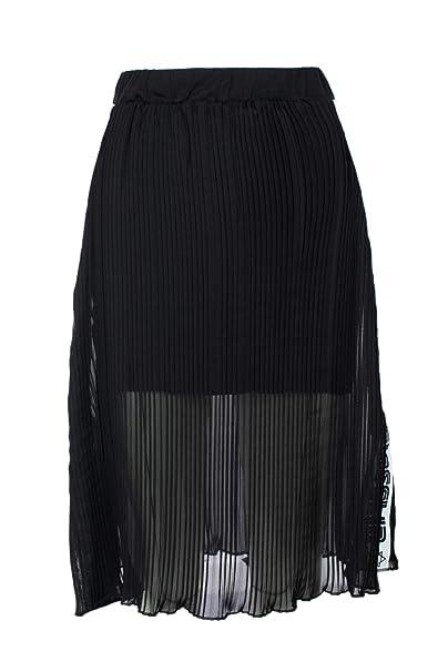 comprare popolare 42ea1 23955 Gioselin Gonna Donna Plisse XS Nero: Amazon.it: Abbigliamento