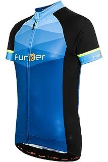 Funkier Men s Rideline Active Short Sleeve Cycling Jersey Bike Top 223700d7e