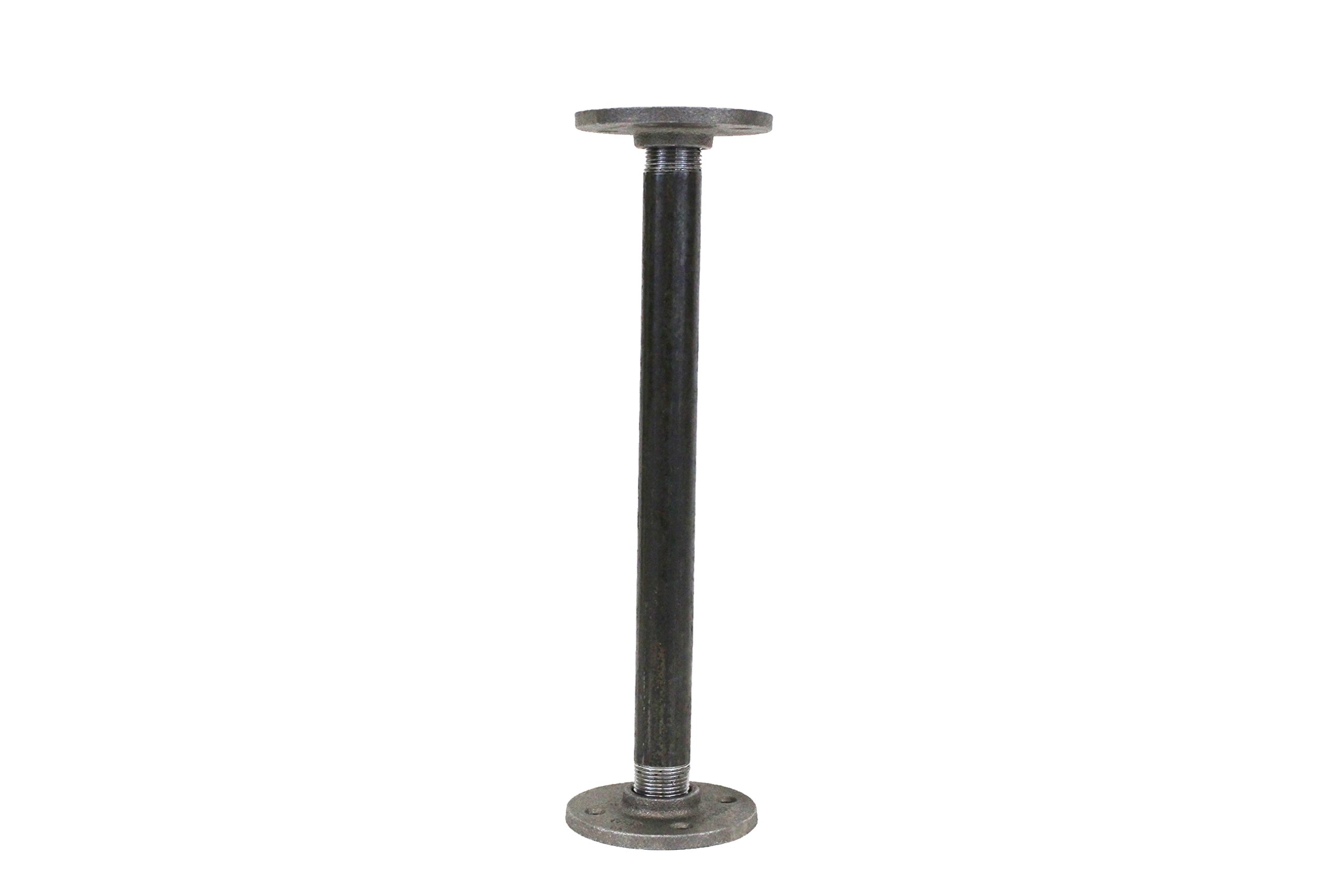img black handmaidtales i flange console table floor diy pipe inch