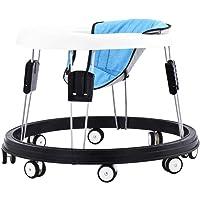 Andadores ajustables para bebés con bandeja de fácil