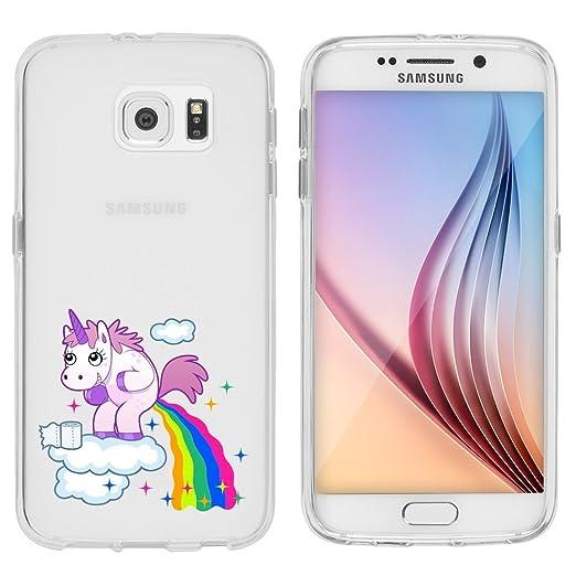 4 opinioni per Samsung Custodia di licaso® per il Samsung Galaxy S6 di TPU Silicone Unicorno
