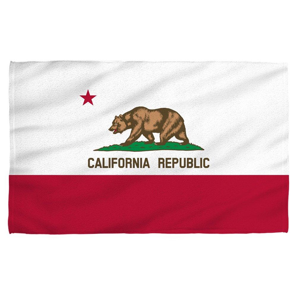 Tilted Tees California State Flag - Beach Towel (30''x 60'')