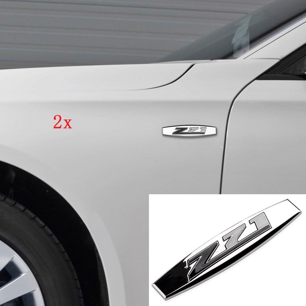 2x OEM Texas Edition Emblem 3D Badge for Chevrolet Sierra Silverado Tahoe Chrome