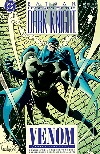 Ebook cover from Batman: Legends of the Dark Knight (1989-) #20 by Dennis ONeil