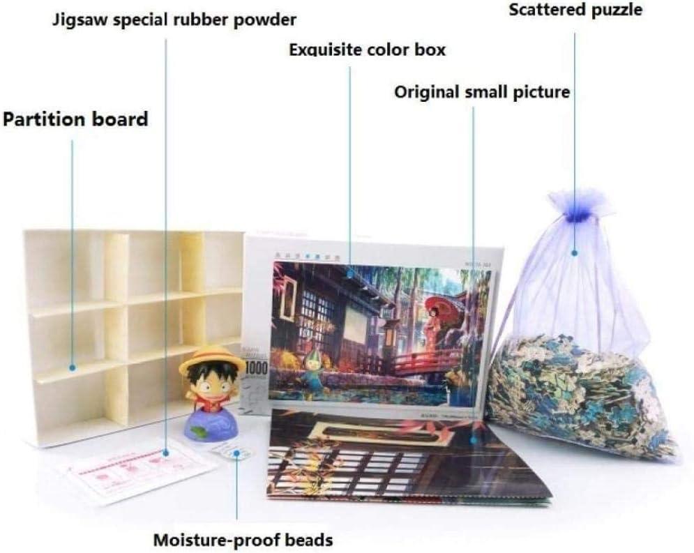 Puzzle 1000 pi/èces de puzzle en bois Puzzle enfant paysage bois adulte Art jouet d/écoration cadeau Panorama Bouddha Statue Puzzle