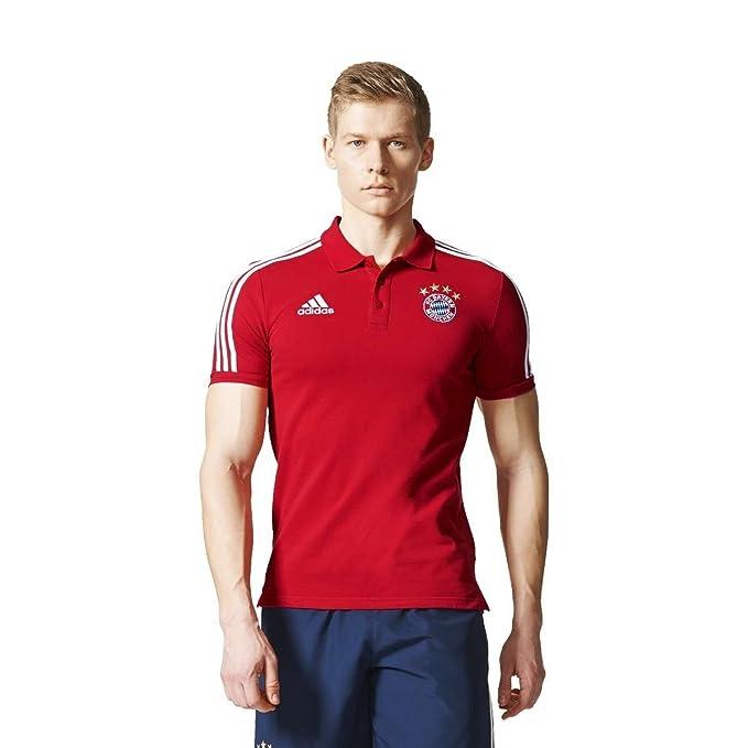 adidas Cf0925 Polo de Línea FC Bayern de Munich, Hombre: Amazon.es ...