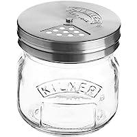 Kilner 38-2056-00 Storage Jar with Shaker Lid, 250ml, Clear 01675
