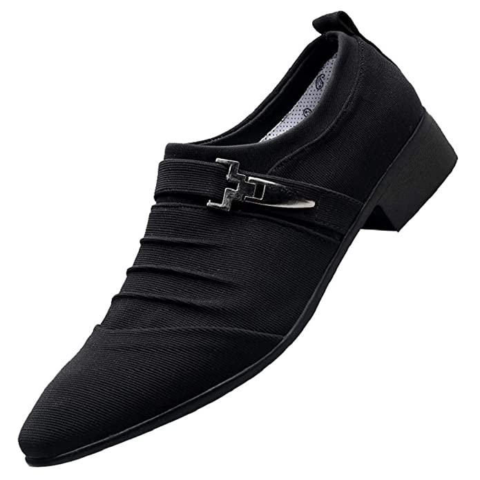 4ddea881ddb Amazon.com | REYO Men Shoes Winter Casual Pointed Toe Formal Shoes ...