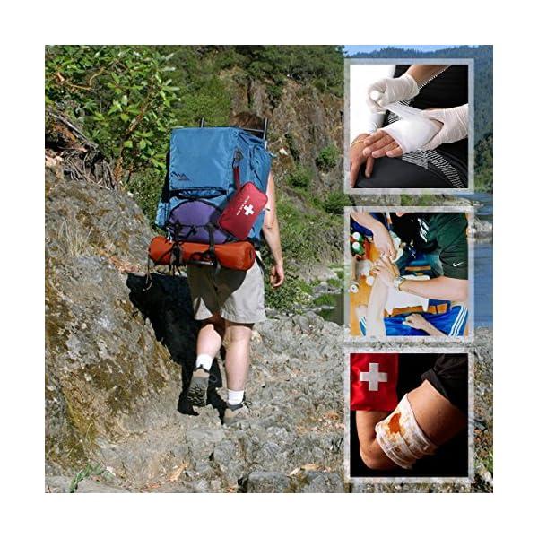Botiquín de Primeros Auxilios de 180 Piezas WEINAS® Kit de Primeros Auxilios Súper Compacto y Profesional para Hogar… 6